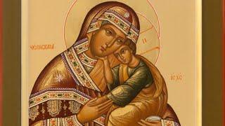 видео Влахернская икона божией матери. Церковь в Кузьминках