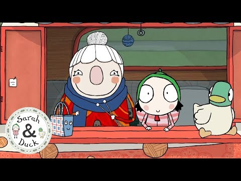 Look, it's Scarf Lady and Bag! - Compilation - Sarah and Duck