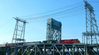 "Morristown & Erie ""Lehigh Limited"" Over the NJT Passaic River Bridge"