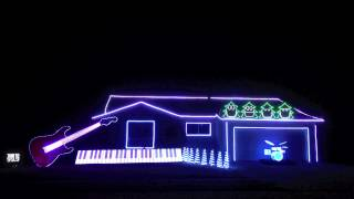 Best Christmas Light Show - Amazing And Hilarious! - Christmas Can Can
