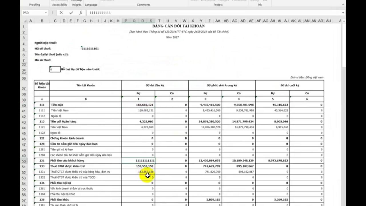 Xuất file XML trực tiếp từ Excel để kê khai thuế qua mạng HTKK – Excel VBA