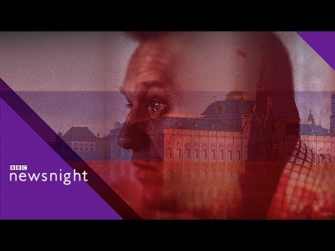 Navalny: Russian opposition leader 'may have been poisoned through pillowcase' - BBC Newsnight
