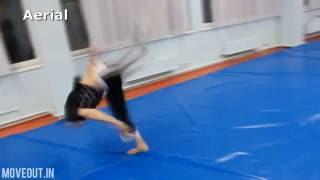 Tricking tricks: Aerial\Колесо без рук