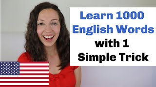 Grow Vocabulary with 1 Simple Trick: Advanced Vocabulary Lesson