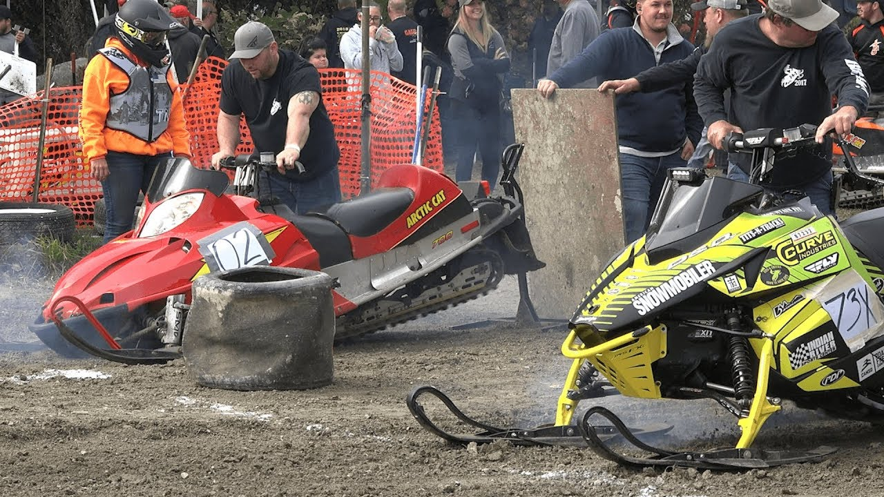 Download Snowmobile Grass Drags Terryville, CT 2018 & (mini 120's)