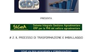 SIGeA #2. Software per la gestione della produzione agricola