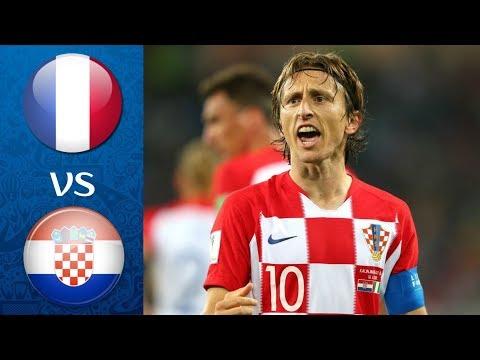 France vs Croatia FIFA 2018 World Cup Final l FIFA 18