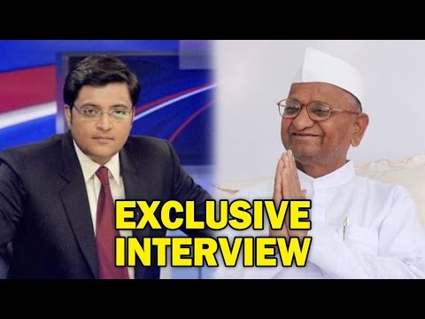 Exclusive - Arnab Goswami Speaks to Anna Hazare on Arvind Kejriwal | Full Interview