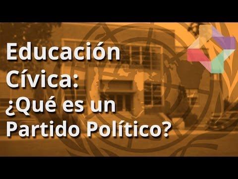 Qué es un Partido Político - Educación Cívica - Educatina