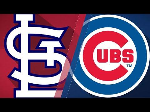 Big bats propel Cubs past Cardinals: 4/19/18