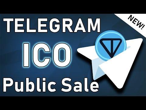 TELEGRAM ICO PUBLIC SALE !?! | Biggest ICO Of 2019