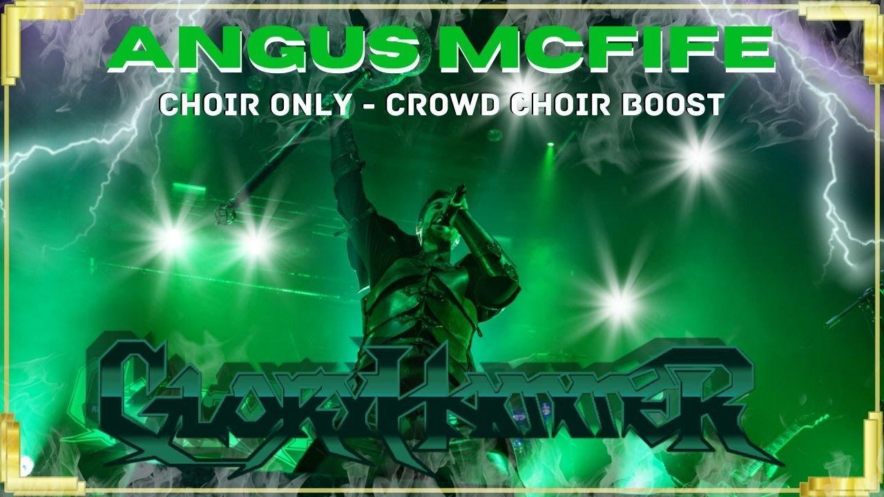 Angus McFife ⚜ Choir Only Boosted | Rearranged | Gloryhammer | Delta