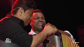 Omar Geles y Alex Manga Lloran Cantando Historia Reencuentro en Barrancabermeja Los Diablitos