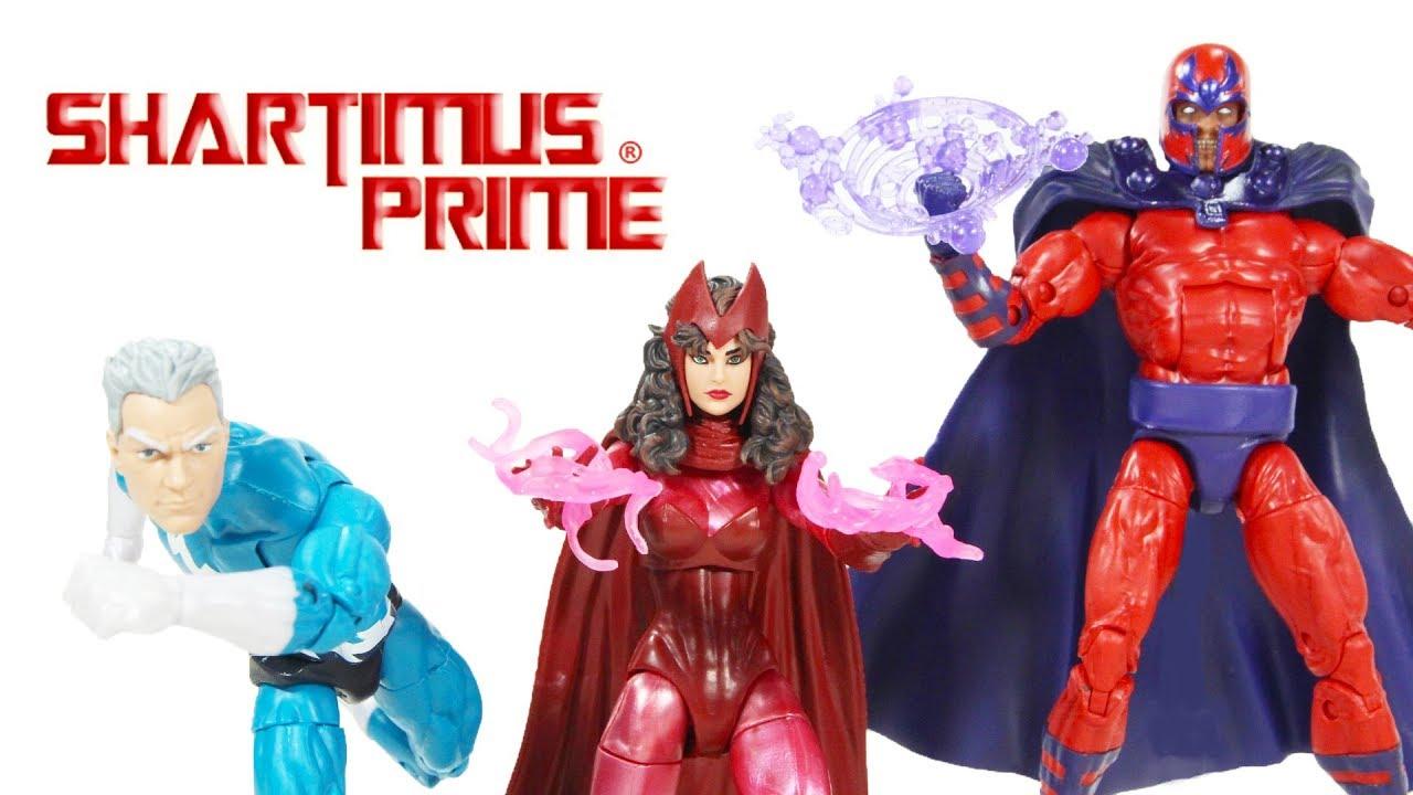 Marvel Legends X-MEN 3 CONF da collezione figure-MAGNETO Quicksilver /& Scarlet
