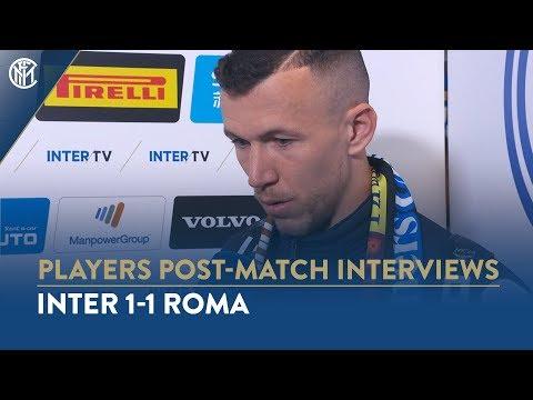 INTER 1-1  ROMA | IVAN PERISIC INTERVIEW: 'It's nice to score, especially at San Siro'
