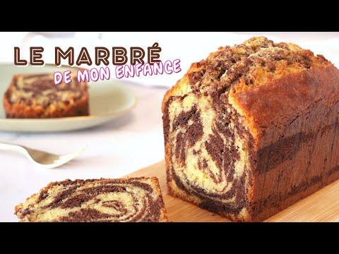 le-marbrÉ-au-chocolat-moelleux---recette-gÂteau-marbrÉ-facile