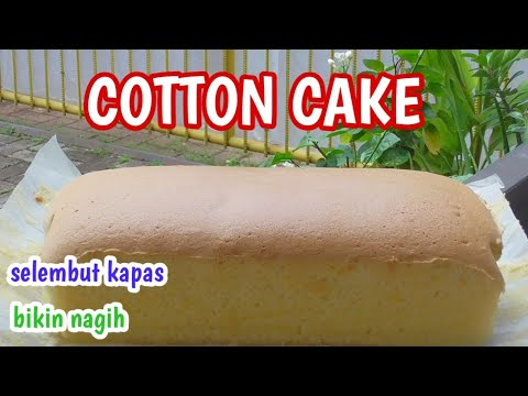 Resep Kue Selembut Kapas Condensed Milk Cotton Cake Bikin Nagih Youtube