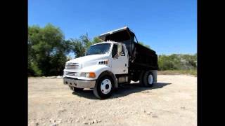 Sold! 2007 Sterling Acterra 6-8 Yard S/A Dump Truck  300hp Cat C7 bidadoo.com