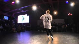 チャーリー(TRIQSTAR) vs SHUHO(TOKYO FOOTWORKZ) BEST8 / DANCE@LIVE 2016 ALL STYLES KANTO vol.04