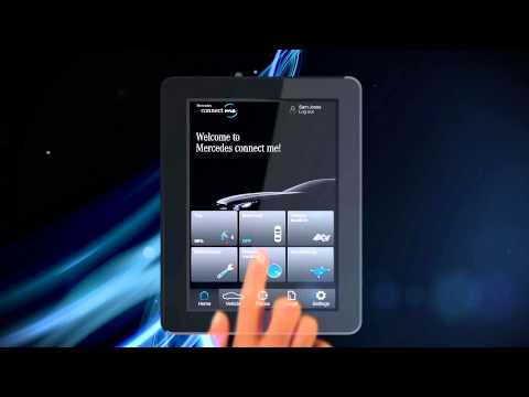 Connect me remote access to your car from your smart for Mercedes benz com connect