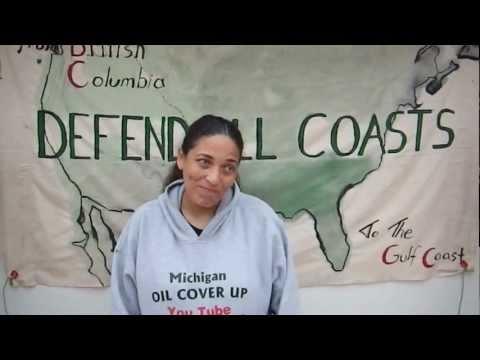 Cherri Foytlin's Tar Sands Blockade Testimonial Video