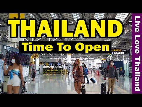 Thailand Time to Open | October No Quarantine  | Bangkok very soon #livelovethailand