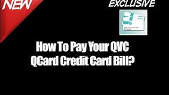 How To Pay Your QVC QCard Credit Card Bill - QVC Credit Card