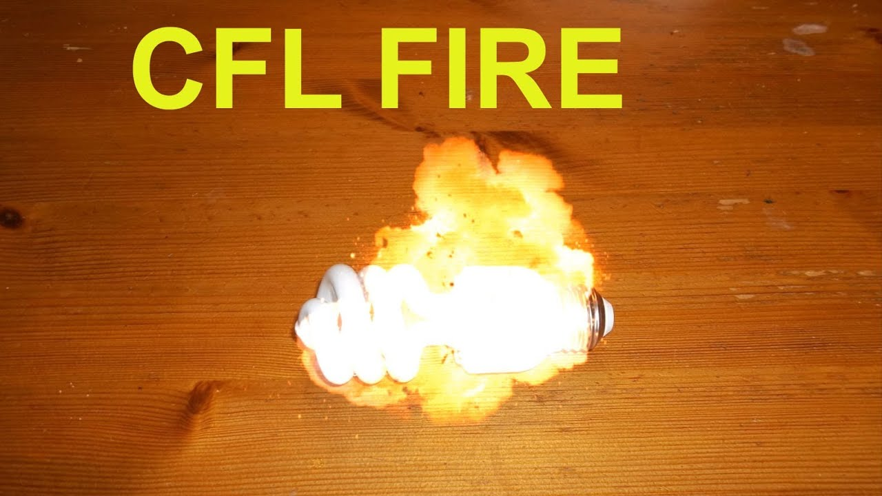 Fluorescent Lamp Cfl Light Burned My Home Plus Fire Destruction Photos