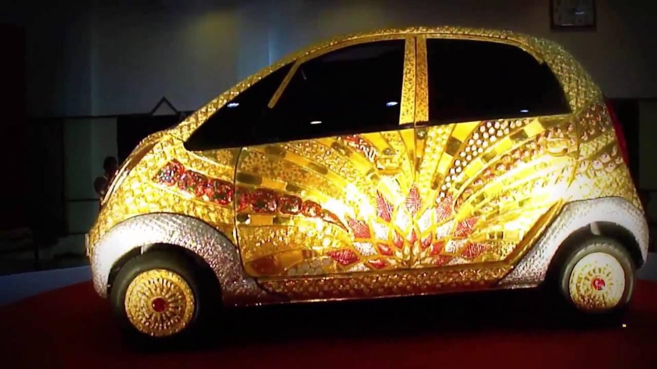 Cost Of Tata Nano Car ?gold Car Tata Nano Cost 22 Crore