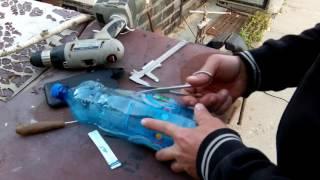 Как сделать ветряк из пластиковой бутылки.