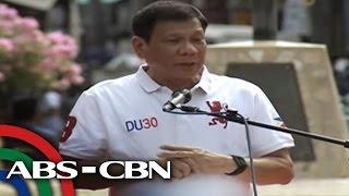 Duterte: I won't allow Mexico-like narco-politics