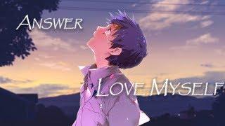 Gambar cover Nightcore ~ Answer : Love Myself   BTS