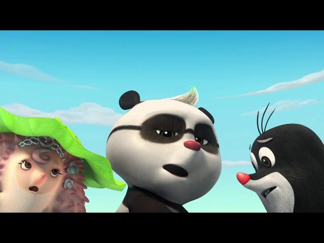Krtek a panda epizoda 22- Rybka na souši