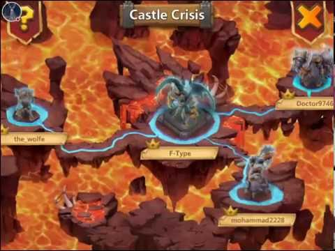 Castle Clash: Castle Crisis Rewards & Archdemon Fight!