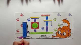 #Том и Джерри!!!! #Раскраска!!!!!!