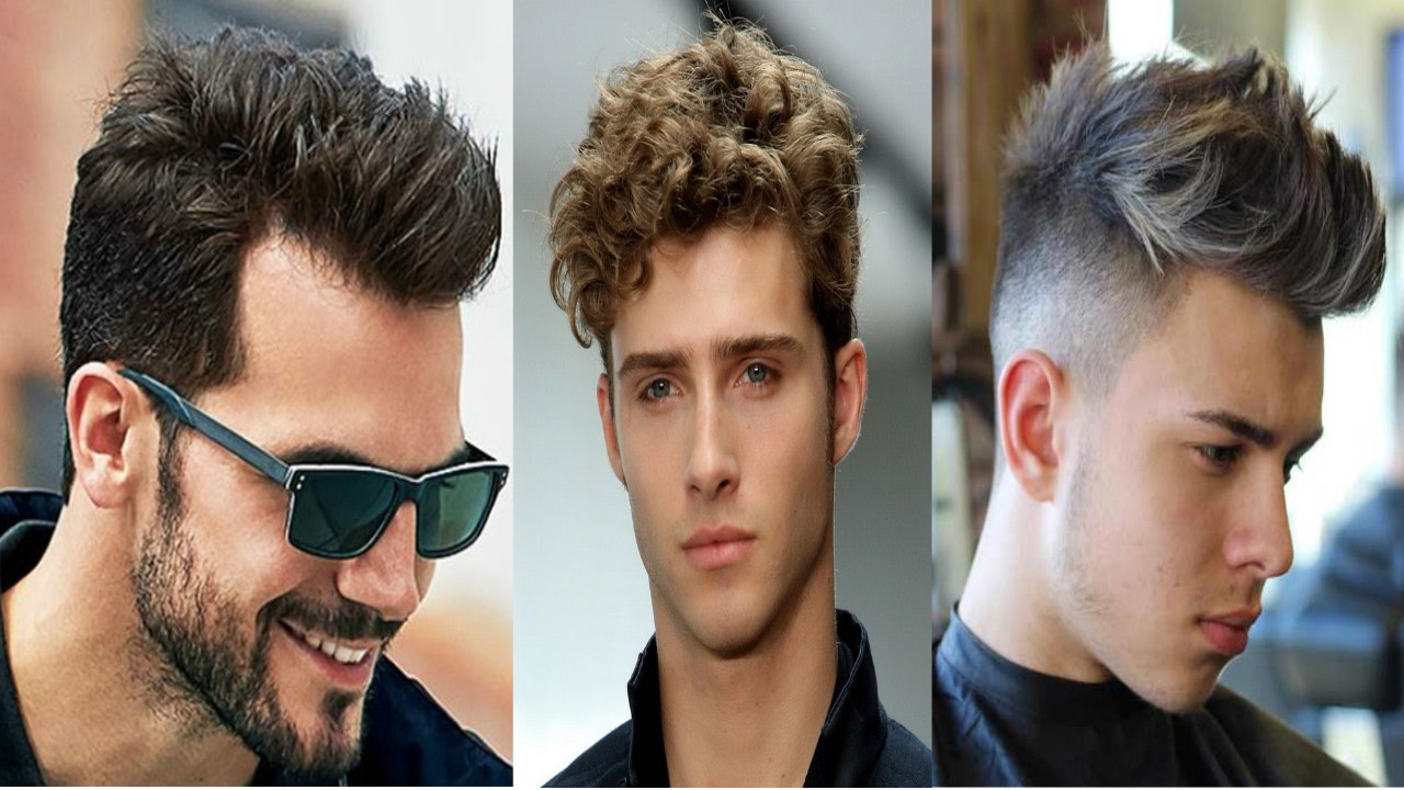 Top Fashionable Hairstyles For Men 2017 2018 Best Trendy: Top 10 Most Attractive Men's Hair Styles 2017-2018