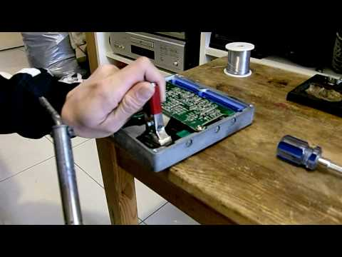 How to remove stock eprom from Nissan ECU (19Mar2010)