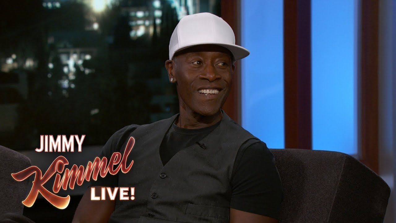 Don Cheadle Texted with Aretha Franklin
