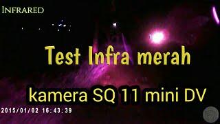 SQ11 MINI DV CAMERA# Infrared test at night