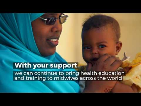 Midwife Badra's story in 60 seconds - training health workers  in Somaliland using film