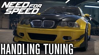 Need for Speed 2015 | HANDLING TUNING DETAILS! (NFS 2015)