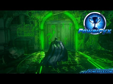 Batman Arkham Knight - Riddler Trial #6 Walkthrough (The Primal Riddle Trophy / Achievement Guide)