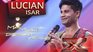"Andrea Bocelli - ""Vivo per lei"" - interpretarea lui Isar Lucian, la X Factor"