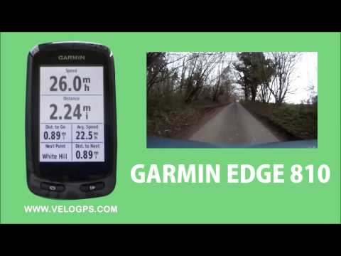 Garmin Edge 810 Course Navigation