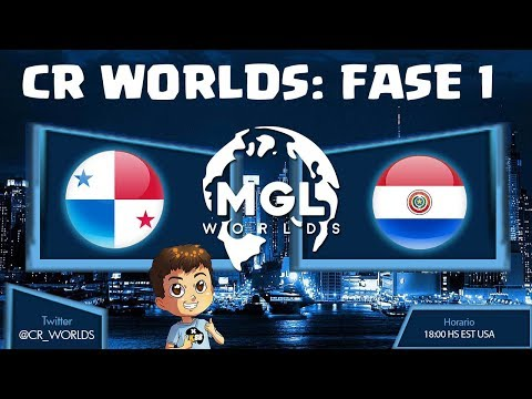 CR WORLDS: PANAMA VS PARAGUAY, FASE 1| KManuS88 | Clash Royale
