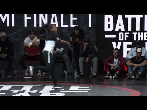 BATTLE OF THE YEAR FRANCE 2019 -  DEMI FINALE - MELTING FORCE VS TIE BREAK