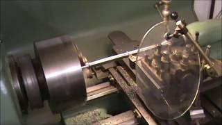 Colchester Lathe Cuts Chrome Vanadium Steel Bar