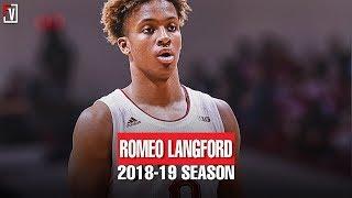 Romeo Langford  Indiana Freshmen Season Highlights Montage 2018-2019 Season