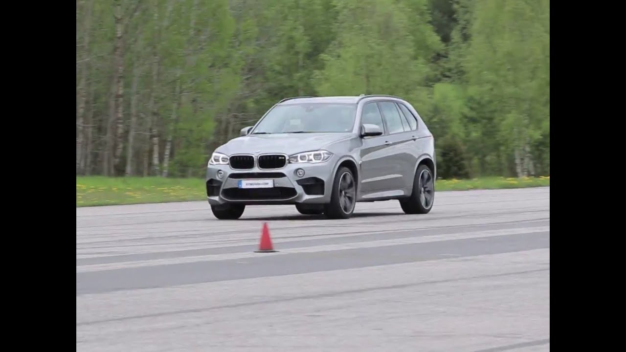 F15 BMW X5M all out acceleration to TOP SPEED limited