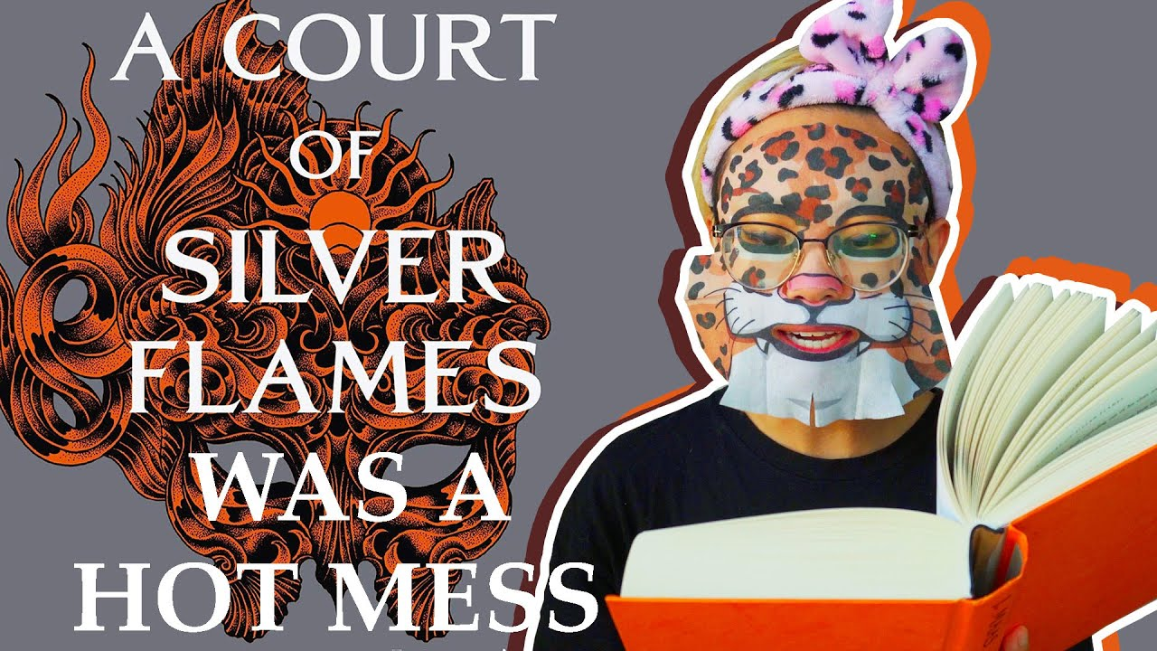 I read 800 pages of A Court of Silver Flames so I made d*** soap and wore a furry face mask (Part 1)